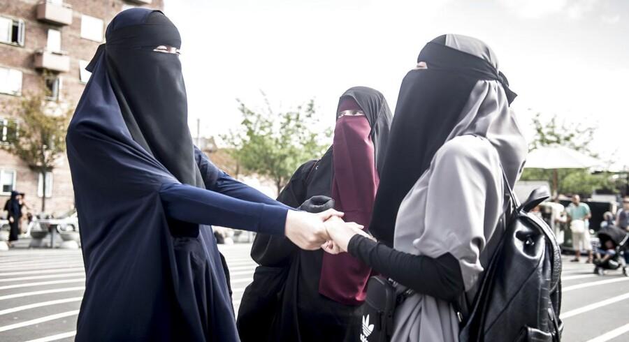 »Som en af dem, der har været gevaldigt sure over burkaforbuddet, der er en indskrænkning af ytringsfriheden i det offentlige rum, er undertegnede enig med Ammitzbøll-Bille i, at forbuddet var en fejl. Jeg ser det ikke som særligt menneskevenligt at tolerere burkaer, men frihed i det offentlige rum indebærer nu engang, at man må leve med manifestationer af et dybt reaktionært og usympatisk syn på køn og seksualitet,« skriver Mikkel Andersson.