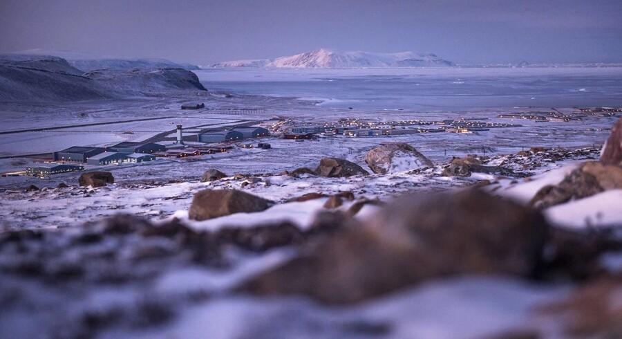 Thule Air Base, Grønland. Donald Trump har gentagne gange - med varierende grad af alvor - spurgt sine rådgivere om deres syn på et amerikansk køb af Grønland, skriver Wall Street Journal.