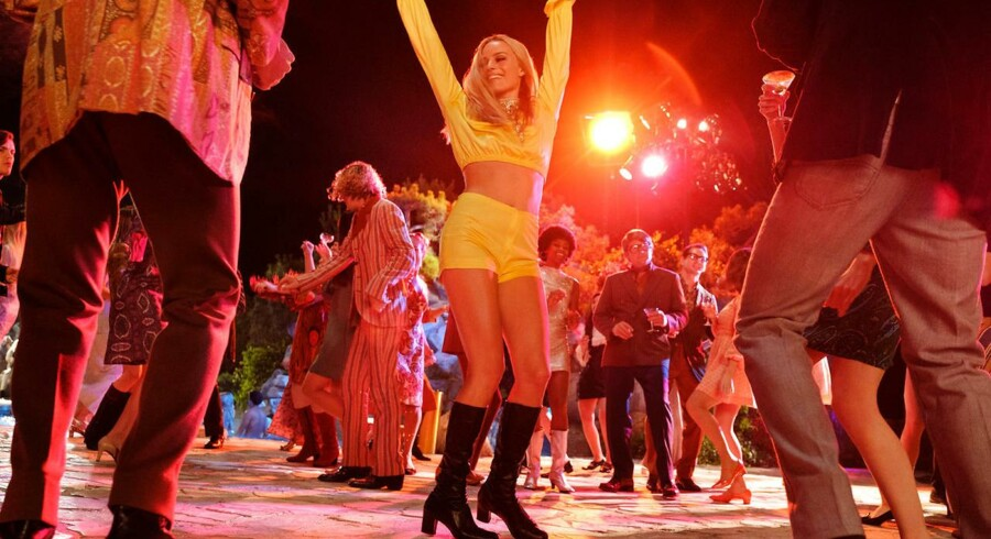 Margot Robbie som Sharon Tate i »Once Upon a Time... in Hollywood«.