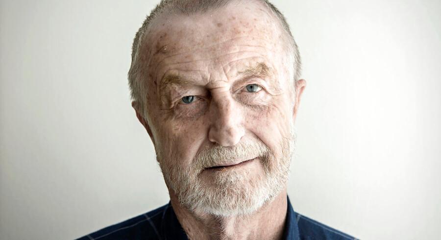 Lars Larsen, stifter af Jysk, er tidligt mandag morgen sovet stille ind. Foto: NIELS AHLMANN OLESEN