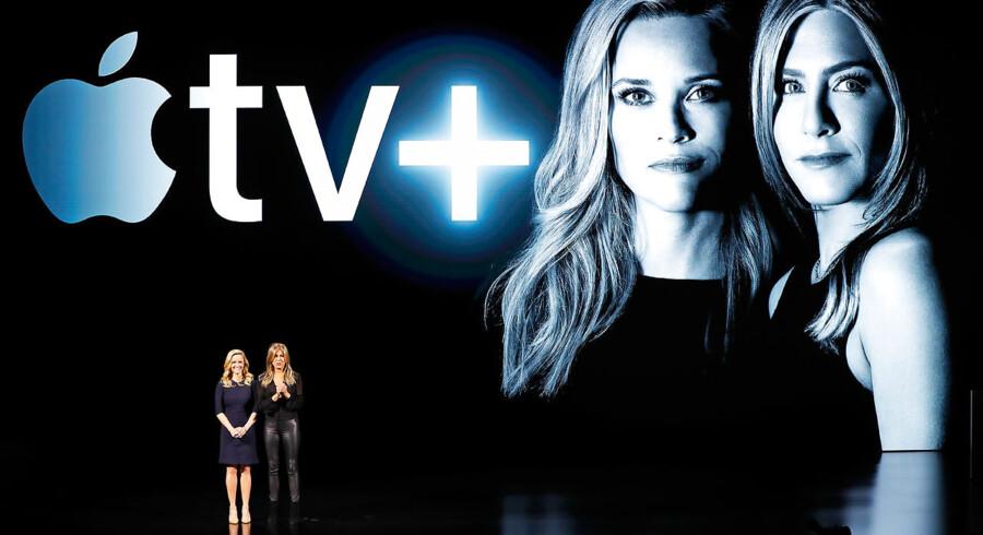 Apples nye streamingsatsning kommer til at tilbyde originalt produceret indhold, og det første på listen er en stjernespækket tv-serie, hvor Reese Witherspoon og Jennifer Aniston er på rollelisten.