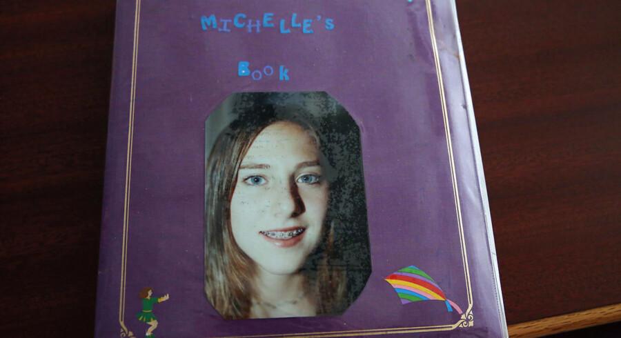Michelle Licata var endnu en af de angivelige ofre. Her er hun som 16-årig, på det tidspunkt, hvor hun faldt i kløerne på Epstein. »Jeg var bare en lille pige, som stadig havde bøjle på tænderne,« som hun sagde.