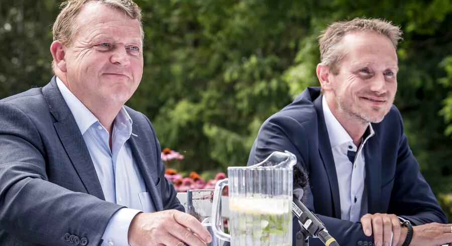 Lars Løkke Rasmussen og Kristian Jensen bør forlade Venstres ledelse.