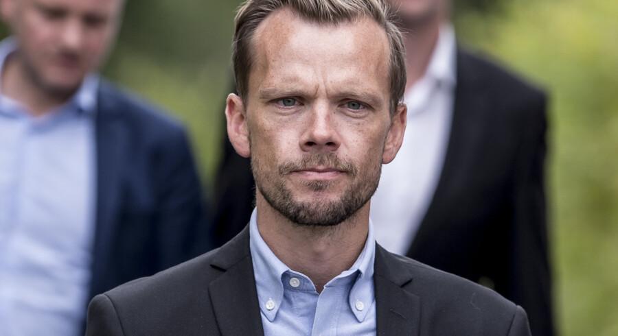 Beskæftigelsesminister Peter Hummelgaard (S) mener ikke, at løsningen på manglende arbejdskraft bor i udlandet, men i Danmark. Mads Claus Rasmussen/Ritzau Scanpix