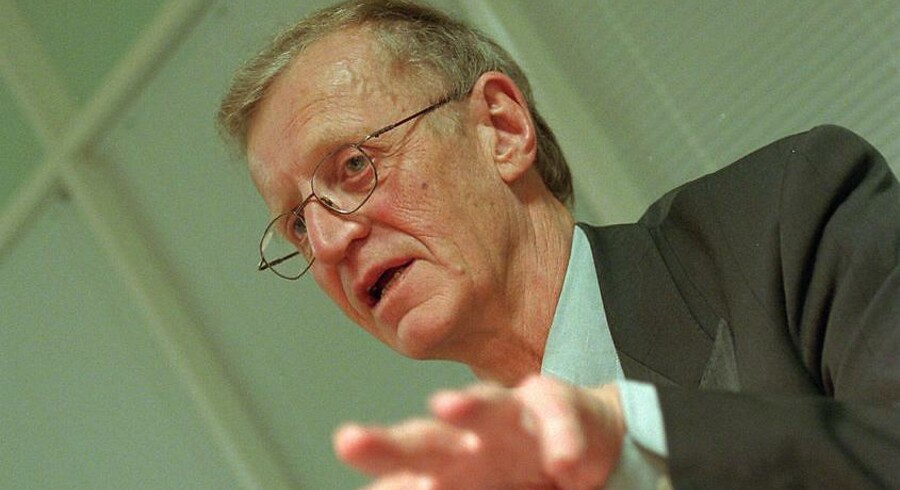 John Winther fotograferet i 1997. Han var konservativ Frederiksberg-borgmester fra 1978-2000 og døde i december 2017.
