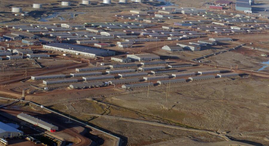 Thulebasen i Grønland rummer i dag en radar, der holder øje med russiske missiler, fortæller lektor ved Forsvarsakademiet Jon Rahbek-Clemmensen. Amerikanerne ønsker dog at udvide basen til at omfatte luftforsvar, og det kræver grønlandsk velvilje. (Arkivfoto). Bjarke ørsted/Ritzau Scanpix