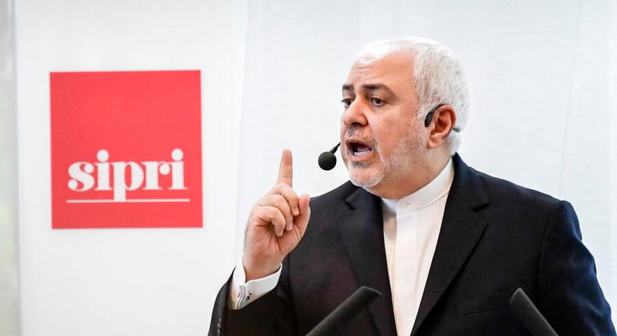 Den iranske journalist Amir Tohid Fazel flygtede, kort inden Irans udenrigsminister, Javad Zarif, skulle holde tale hos det svenske fredsinstitut, SIPRI.