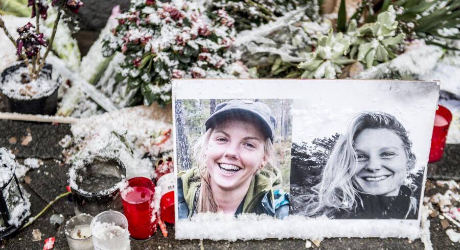 24-årige Louisa Vesterager Jespersen og 28-årige Maren Ueland blev i december sidste år dræbt under en vandretur i Marokko. (Arkivfoto) Mads Claus Rasmussen/Ritzau Scanpix