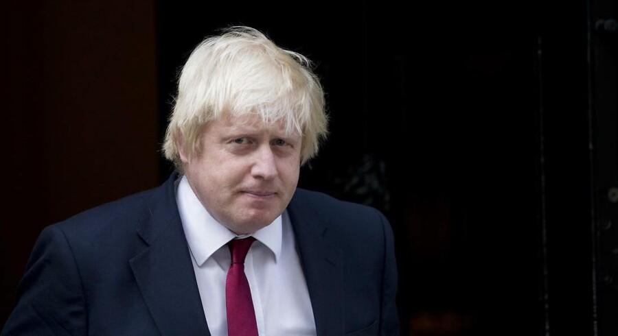 Den britiske premierminister, Boris Johnson, vil sende landets parlamentarikere hjem i fem afgørende uger i Brexit-processen. Dronning Elizabeth II godkendte onsdag eftermiddag Johnsons anmodning om at suspendere parlamentet. Foto: Ritzau/Scanpix/AFP