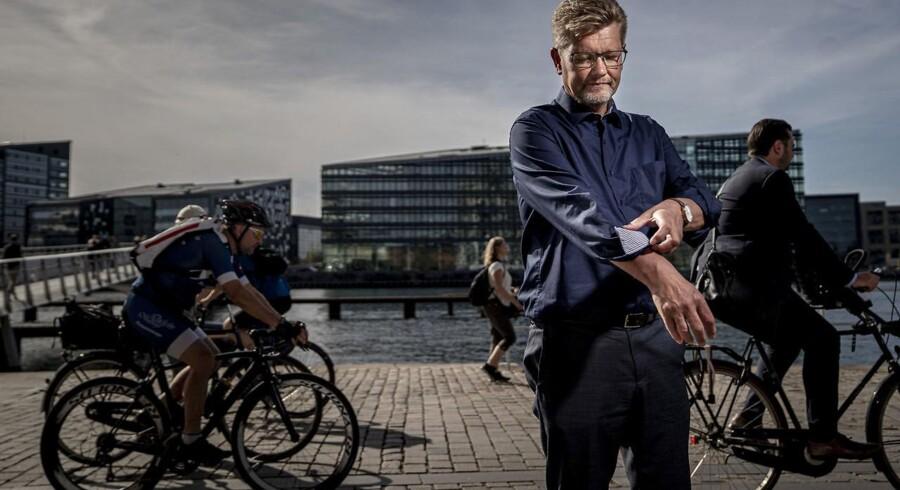 Overborgmester i København Frank Jensen (S) fotograferet på Islands Brygge i København.