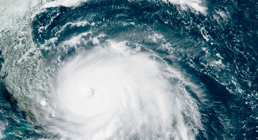 Orkanen Dorian er en af de værste nogensinde.