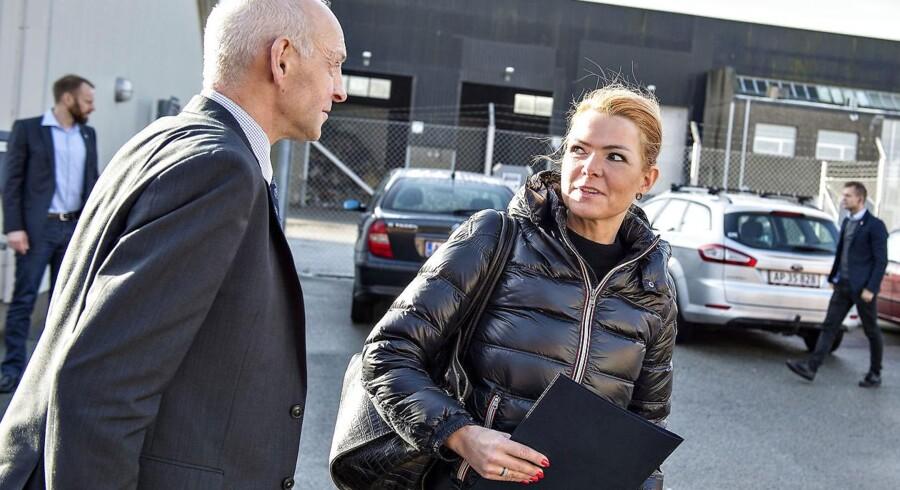 Ham her, Skive-borgmester Peder Christian Kirkegaard, kan godt leve med hende her, Inger Støjberg, som en af to nye Venstre-næstformænd.