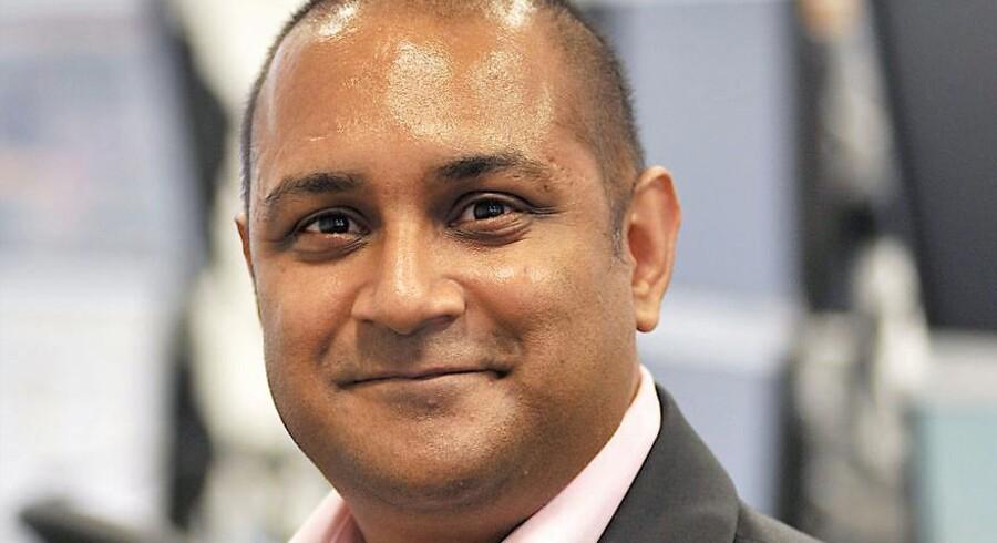 Det kom som et chok for alle, da det i eftersommeren 2015 pludselig viste sig, at en falleret finansmand i London, Sanjay Shah (billedet) og kumpaner over nogle år havde lænset den danske statskasse for 12,7 mia. kr. i den såkaldte udbytteskatteskandale. Nu er sagen blevet til en bog.