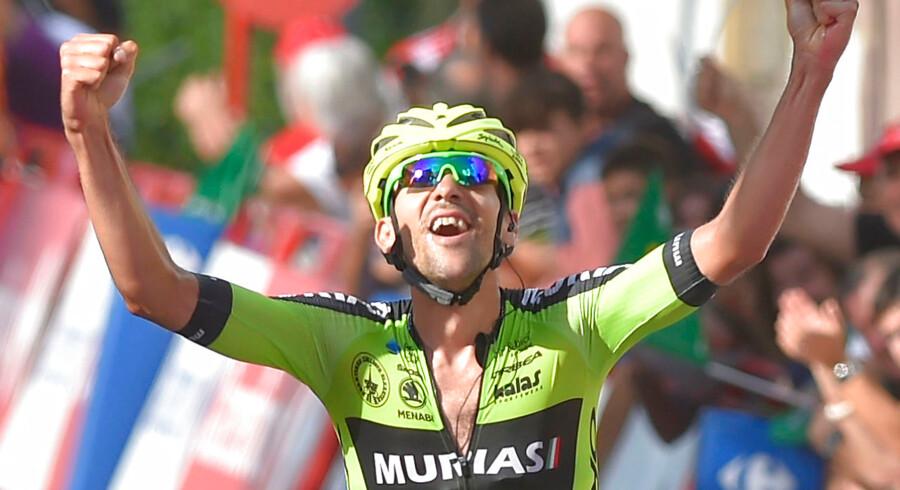 Spanieren Mikel Iturria tog karrierens største sejr på 11. etape, hvor feltet lod en udbrydergruppe køre væk.
