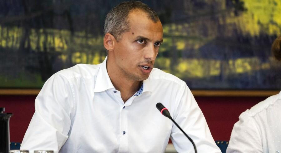 Udlændinge- og Integrationsministeriet opdager risiko for fejl i sager om indrejseforbud. Her integrationsminister Mattias Tesfaye.