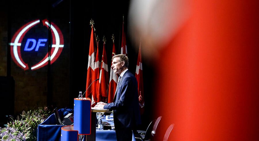 »Vi kunne godt have spillet kampen anderledes. Vi havde nok stadig tabt, men var kommet derfra med et meget mindre nederlag,« sagde DF-formand Kristian Thulesen Dahl, da han på talestolen til Dansk Folkepartis årsmøde indledte med at dissekere årsagerne til partiets valgnederlag.