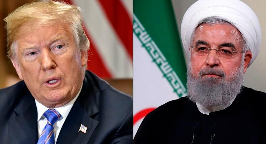 Konflikten mellem USA og Iran, Trump og Rouhani, er eskaleret til nye højder med weekendens droneangreb mod to saudiske olieanlæg. USA beskylder nemlig Iran for at stå bag – og Trump lover nu at svare igen på Saudi-Arabiens vegne.
