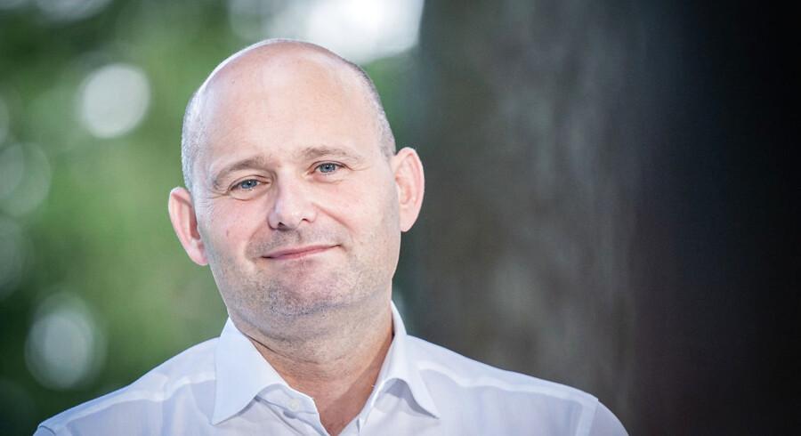 Søren Pape Poulsen (K) vil gerne støtte en kommende klimalov med et mål om, at der i 2030 skal udledes 70 procent mindre CO2. Det kræver dog, at den ikke kommer til at koste arbejdspladser. (Arkivfoto).