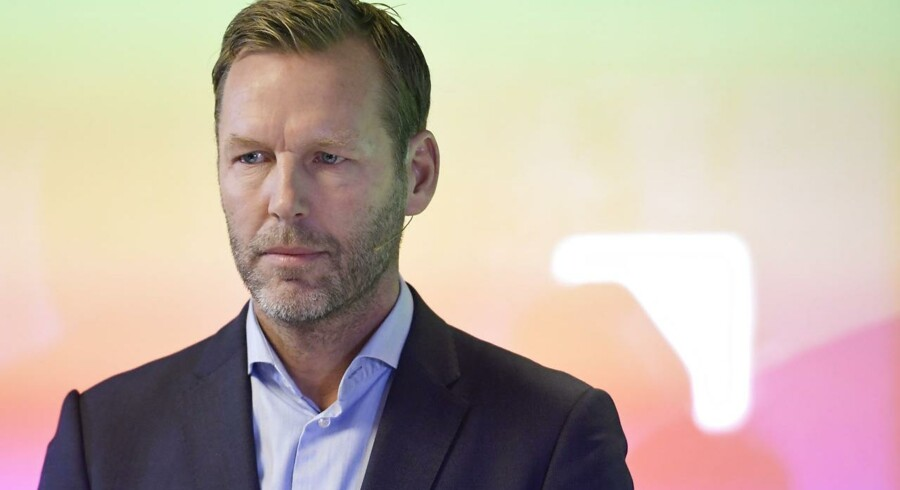 Nu tidligere Telia-topchef Johan Dennelind får fra 2020 nyt job i Dubai. Arkivfoto: Janerik Henriksson, TT/AFP/Ritzau Scanpix
