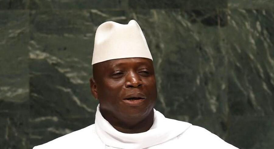 Gambias skæbne er nu i Allahs hænder,« lyder det fra landets præsident, Yahya Jammeh, som har erklæret det vestafrikanske land for en islamisk stat.