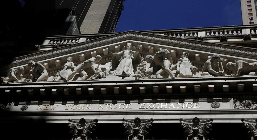 Det bliver næsten på årsdagen for NYSE's start, at den nye chef overtager topposten. Børsen åbnede første gang 17. maj 1792.REUTERS/Brendan McDermid
