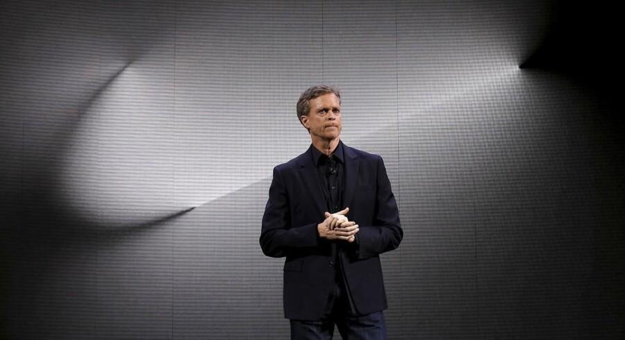Nikes administrerende direktør Mark Parker. Foto: Brendan McDermid