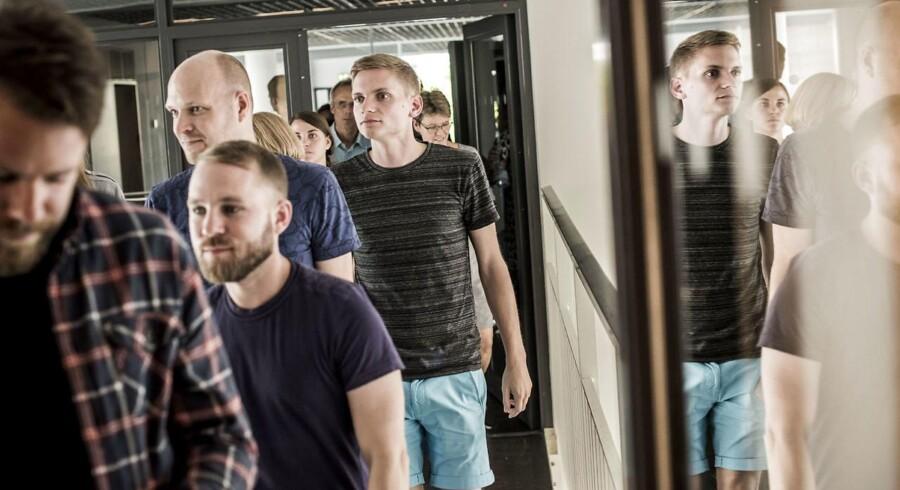 Medarbejdere og studerende blev på Københavns Universitet orienteret om store besparelser.