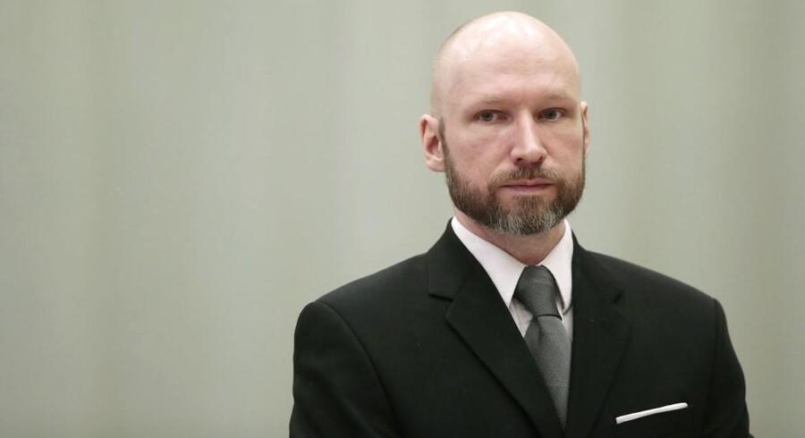 Anders Behring Breivik slog 77 mennesker ihjel, da han gennemførte et dobbelt terrorangreb i Oslo og på øen Utøya i juli 2011.