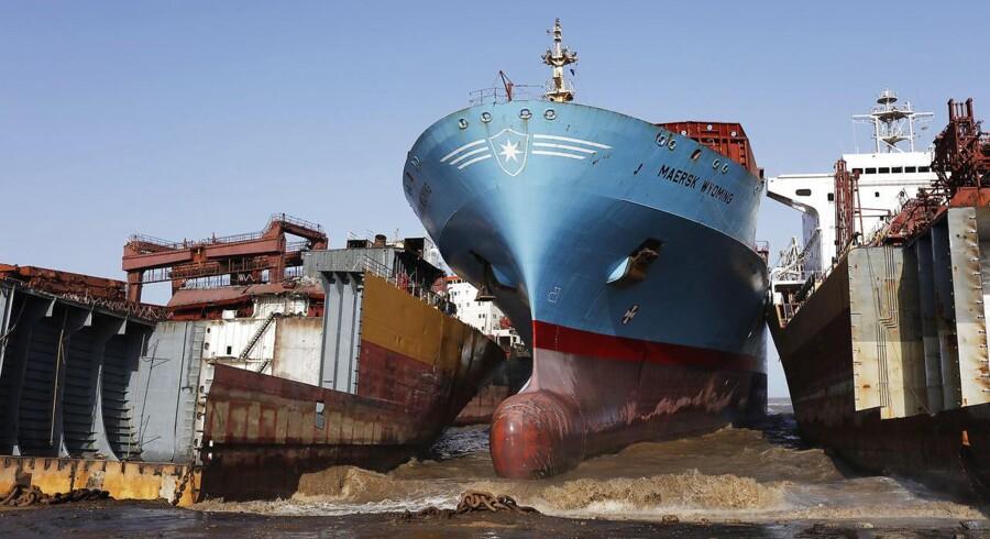 Tirsdag kom det frem, at Mærsk ikke længere vil sælge udtjente skibe til andre.