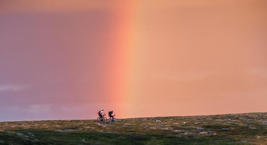 Alta ligger der, hvor Finnmarken møder de dybe norske fjorde, og det gør terrænet voldsomt varieret. Kombineret med midnatssolen betyder det mulighed for mountainbike-ture døgnet rundt.