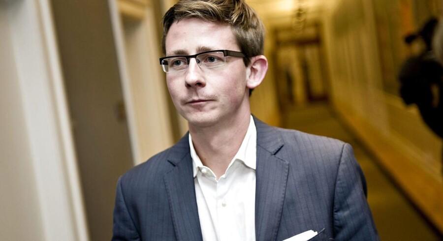 Skatteminister Karsten Lauritzen (V). (Foto: Torkil Adsersen/Scanpix 2016)