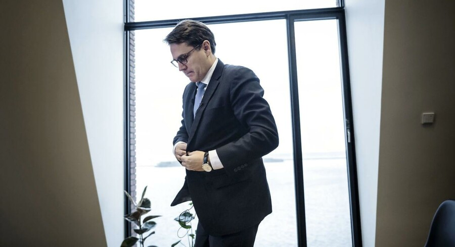 """(ARKIV) Erhvervsministeren, Brian Mikkelsen, ønsker at overflytte tilsynet med kviklånsfirmaerne til Finanstilsynet, fordi de ifølge ministeren """"har bedre mulighed for at sanktionere"""". (Foto: Thomas Lekfeldt/Ritzau Scanpix)"""