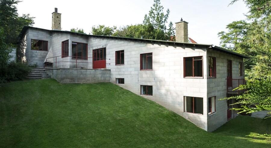 Åbent hus i Poul Henningsens Hus. I 1937 opførte PH sin egen ville som en demonstrationsmodel af, hvordan han mente enfamiliehuset skulle se ud i fremtiden.