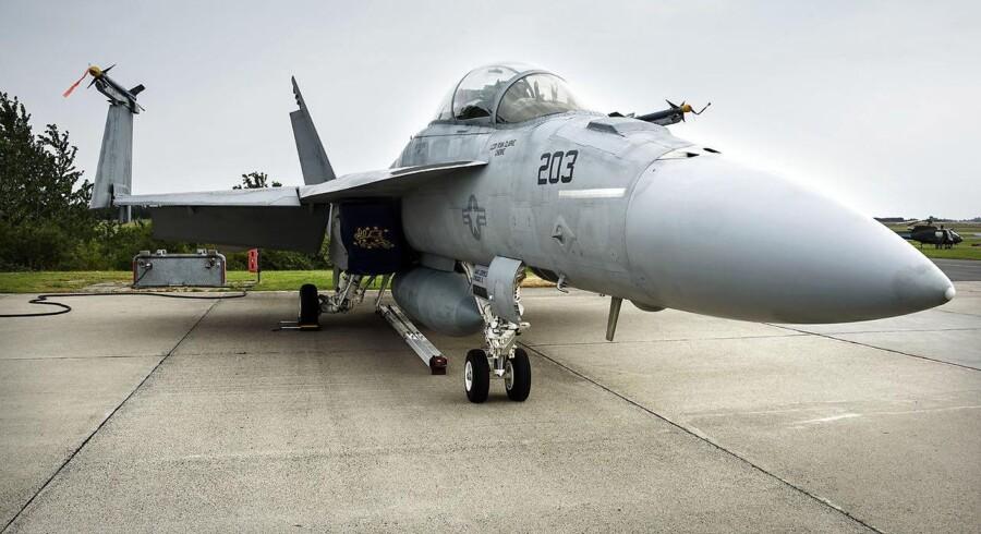 F/A-18 Super Hornet på Roskilde Airshow 2015