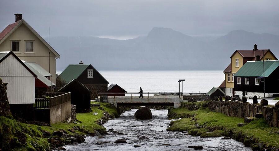 ARKIVFOTO: Her fra den lille bygd Gjogv på Færøerne.