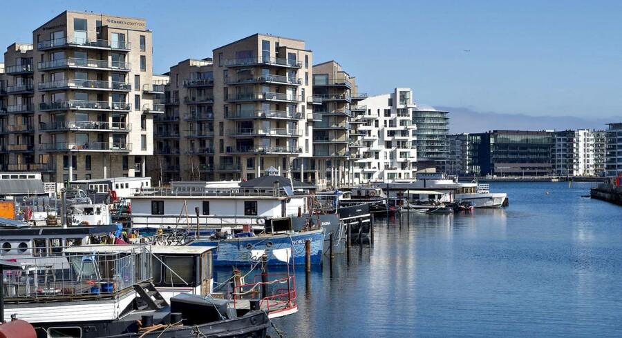 I københavner-bydelen Sydhavnen er udbudspriserne og salgspriserne længst fra hinanden.