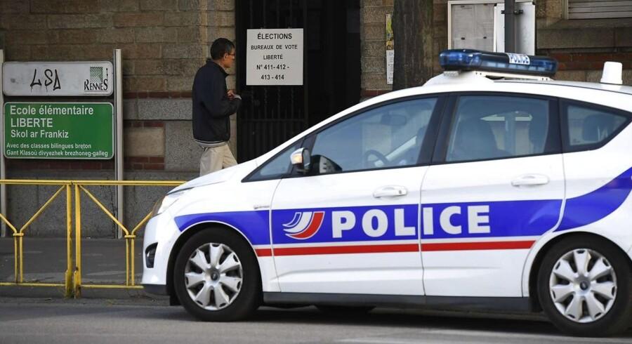 Fransk politi har anholdt en mand i 30'erne.