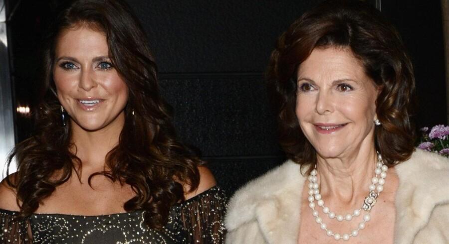 Prinsesse Madeleine og dronning Silvia er i familie sammen, men også kongelige kolleger. Scanpix/Vanessa Marisak