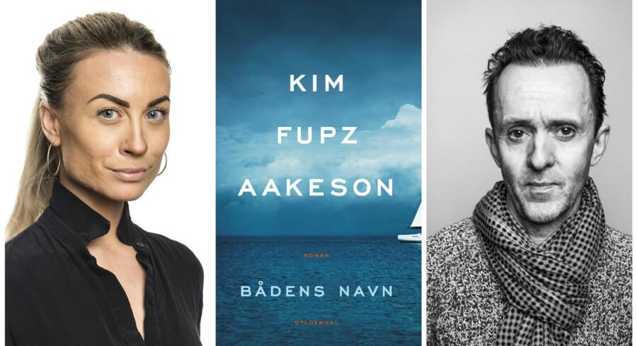 »Med sin psykologiske dybde og autentiske fremstilling af relationer og nedslag i livet er »Bådens navn« så menneskelig, som litteratur kan være,« skriver Katherine Diez om Kim Fupz Aakesons roman for voksne.