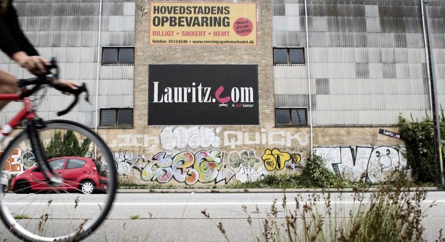 Lauritz.coms bygning på Rovsingsgade 68 har været til salg længe efter et salg sidste efterår slog fejl.