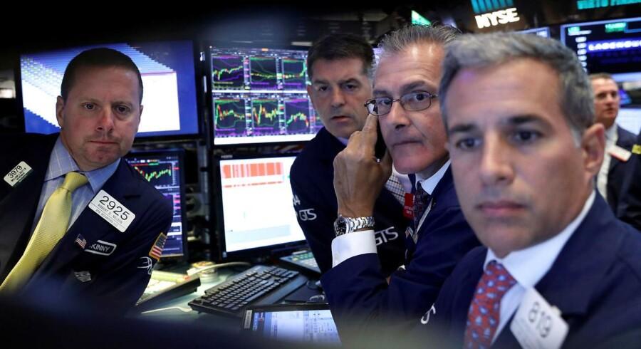 Arkivfoto. Det danske aktiemarked er mandag morgen åbnet med en let positiv stemning, og hvor Nordea blandt andet er i fokus oven på en løftet anbefaling af et udenlandsk finanshus.
