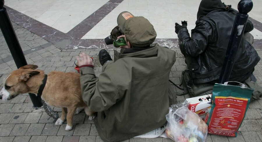 Flere og flere danskere er så fattige, at de ikke kan betale husleje eller spise proteinrig mad. Free/Colourbox