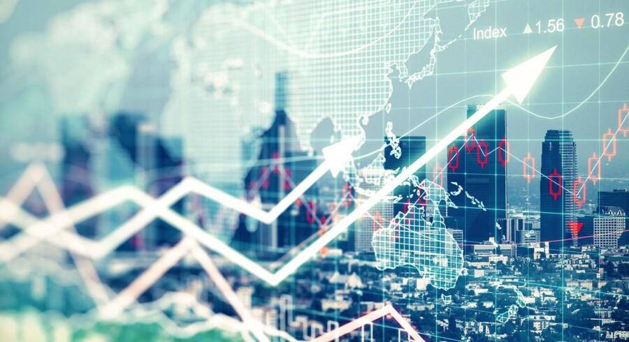 Stigningerne i Asien kommer efter en hård uge med de største fald i tre måneder på de globale aktiemarkeder.