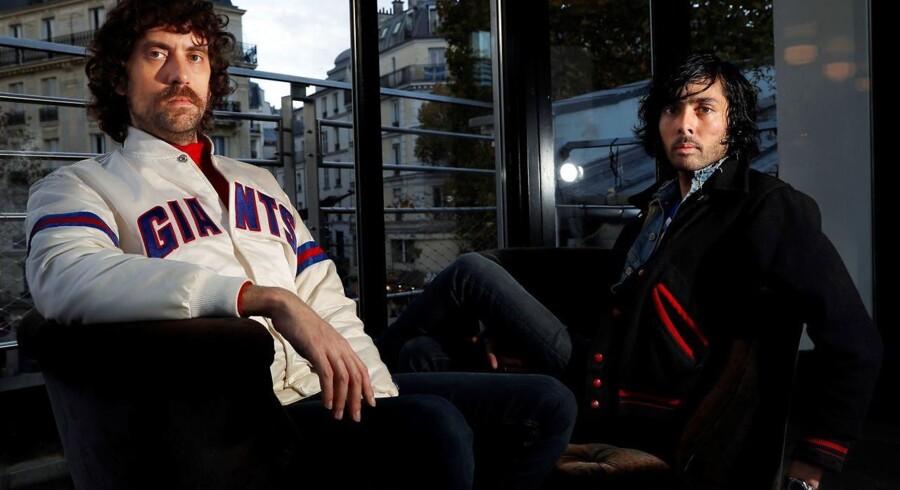 Gaspard Auge og Xavier de Rosnay fra gruppen »Justice«.