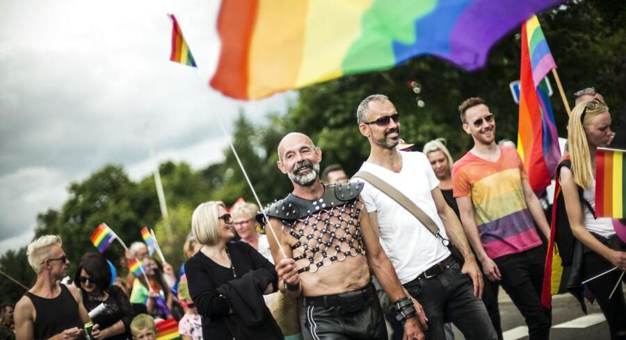 Provokeret af en lokal DF-politikers udtalelser om »afvigere« besluttede en gruppe at afholde pride i den lille by Gesten i Jylland.