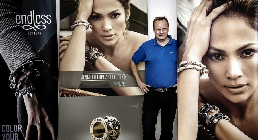 Ulrik Rasch, direktør i Endless Jewelry, meddelte for få måneder siden, at han fortsat troede, han kunne vende forretningen. Det ser han ud til at have fejlet med.