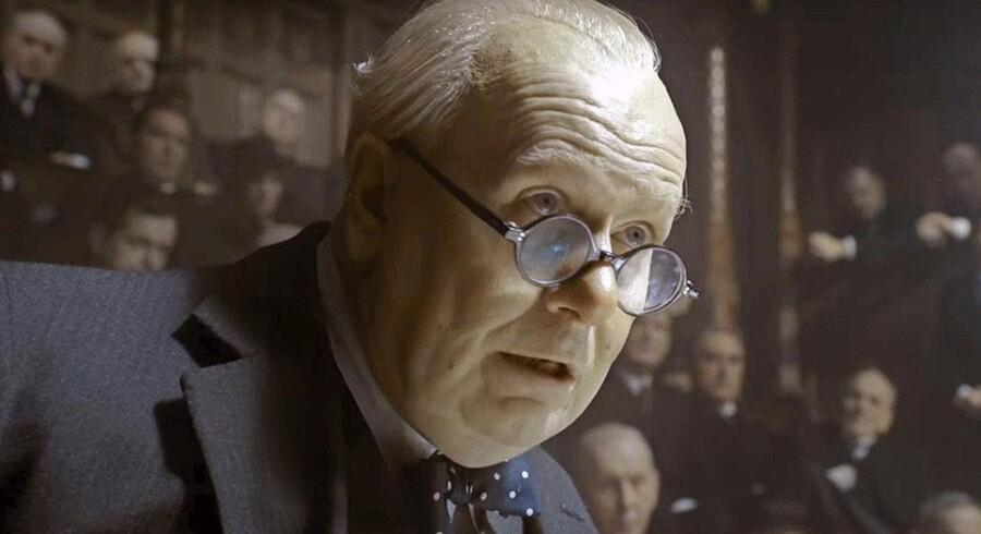 Gary Oldman i rollen som Winston Churchill.