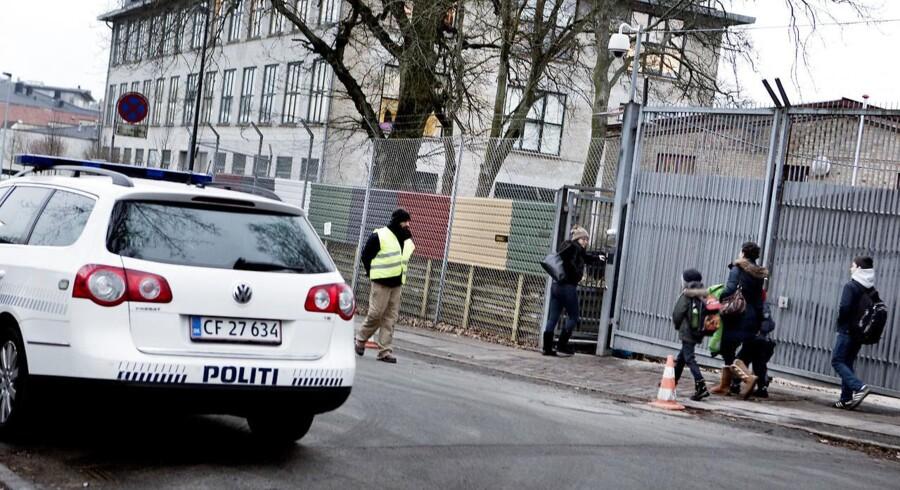 ARKIVFOTO 2015 af Carolineskolen i København, hvor Kundby-pigen er sigtet for at ville begå terror (Foto: Linda Kastrup/Scanpix 2017)