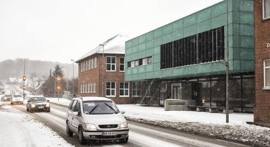 Arkivfoto: De fire tiltalte drenge i den såkaldte Ry-sag kommer for retten den 18. april efter overfaldet ved Mølleskolen tidligere på året.