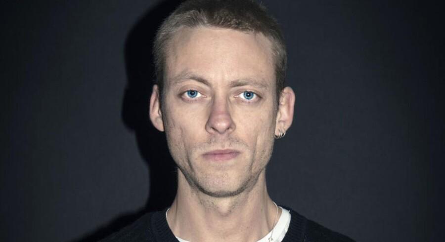 Digteren Theis Ørntoft er nomineret til Læsernes Bogpris 2015 for sin digtsamling »Digte 2014«. Foto: Simon Skipper